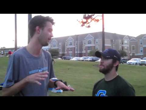 Post Run interview With Cross Country Coach Steven Cary