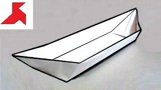 Как сделать оригами ЛОДОЧКУ из бумаги А4 своими руками?