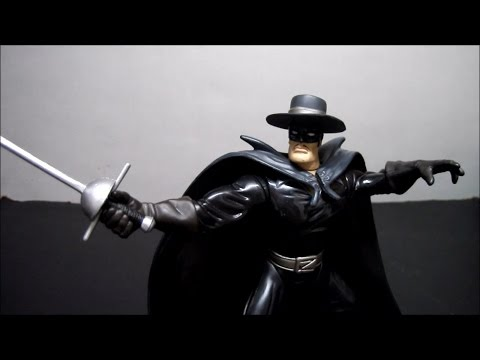 Playmates Zorro 1997 Classic Zorro Figure Review