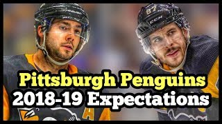 Pittsburgh Penguins 2018-19 Expectations