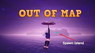 3 km OUT OF THE MAP!! pass spawn island || Fortnite Battle Royale glitch