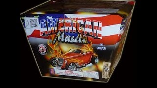 American Muscle Car of 500g Aerials-Dominator fireworks-500g Cakes