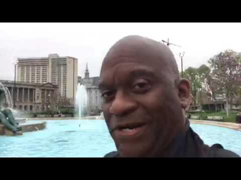 Walk To NFL Draft City Philadelphia Vlog 1 #NFLDraft