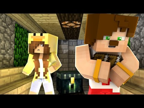 GİZEMLİ YOLDAKİ ODA! CONCONCRAFT GERÇEK HAYAT #6 - Видео из Майнкрафт (Minecraft)