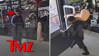 Man Allegedly Steals 3-Foot, 40-lb Sex Toy from Las Vegas Adult Store | TMZ