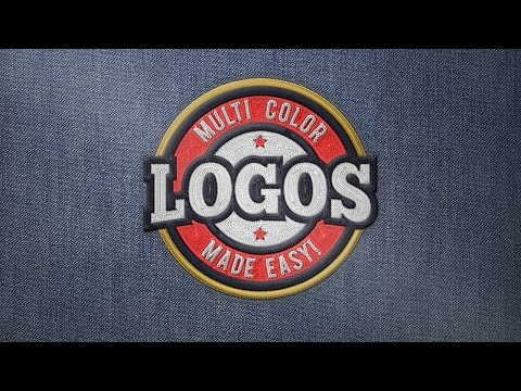Realistic Embroidery V2 - Photoshop Actions - HOW TO USE