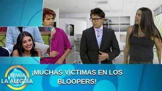 ¡Muchas víctimas en Los Bloopers! | Programa del 27 de septiembre de 2019 PARTE 2 | Venga La Alegría
