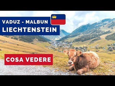 LIECHTENSTEIN: cosa vedere a VADUZ e MALBUN • Lago di Costanza Ep.2 🚗🏞