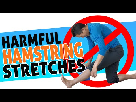 Hamstring stretching mistakes + plus worst hamstring injury advice
