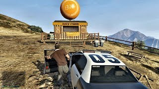 Grand Theft Auto V Ep 219 Letter Scrap 31 Great Chaparral Shack with the Orange Ball