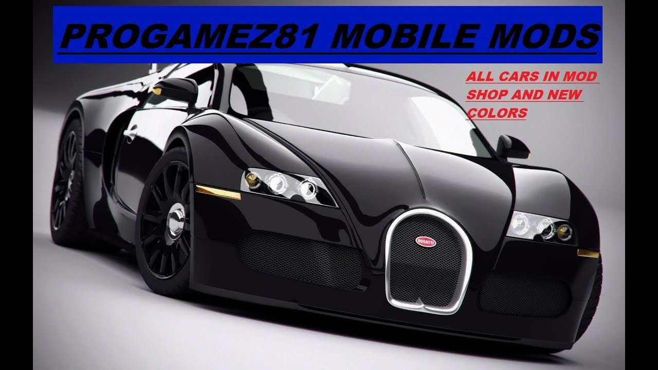 gta sa mobile all cars in mod shop more download