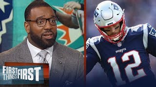 Chris Canty makes his prediction for Patriots vs. Dolphins on Sunday | NFL | FIRST THINGS FIRST
