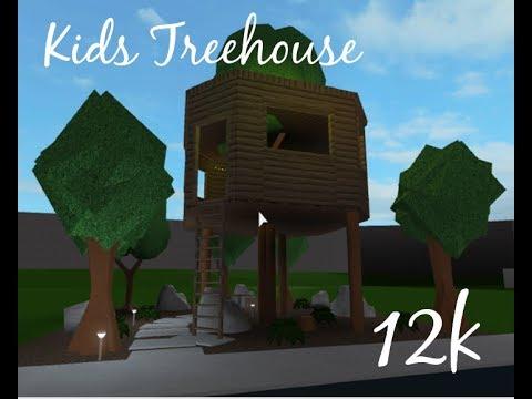 Kids Treehouse 12k Roblox Bloxburg Sarella Youtube