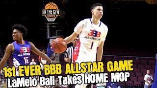 1ST Ever BBB ALL-STAR GAME WAS LIT  - LaMelo Ball GETS MOP .