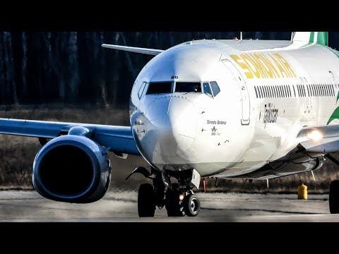 1час ▶ Аэропорт ДОМОДЕДОВО ▶ БОЛЕЕ 25 авиакомпаний ▶ Взлеты, руление, посадки (ноябрь 2018)
