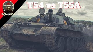 T55A VS T54 Quick Compare World of Tanks Blitz