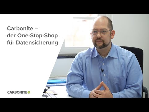 Carbonite – der One-Stop-Shop für Datensicherung