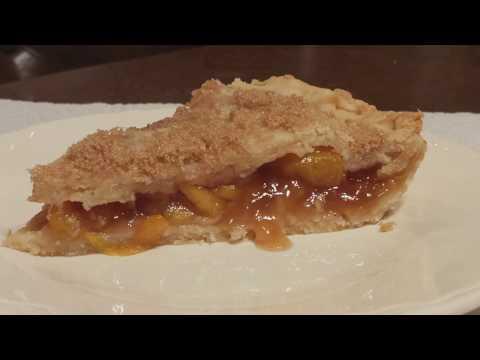 Peach Pie With Frozen Peaches