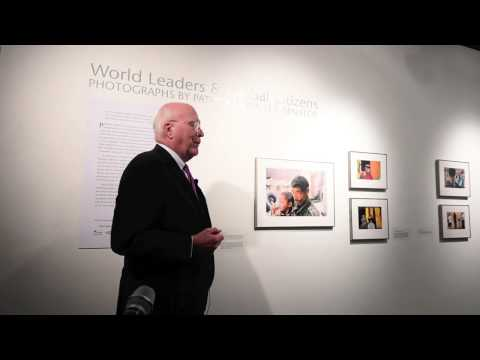 "Sen. Patrick Leahy ""World Leaders & Global Citizens"" Photo Exhibit"
