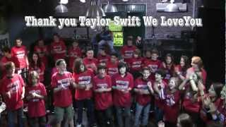 Taylor Swift sent  gifts to Artik Rock Orchestra