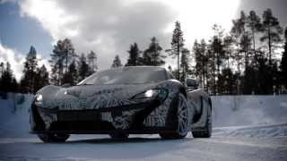 The McLaren P1™ Tested to Extremes - Part 1: Ice