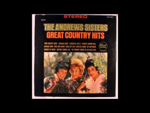 Andrews Sisters Great Country Hits Full Album