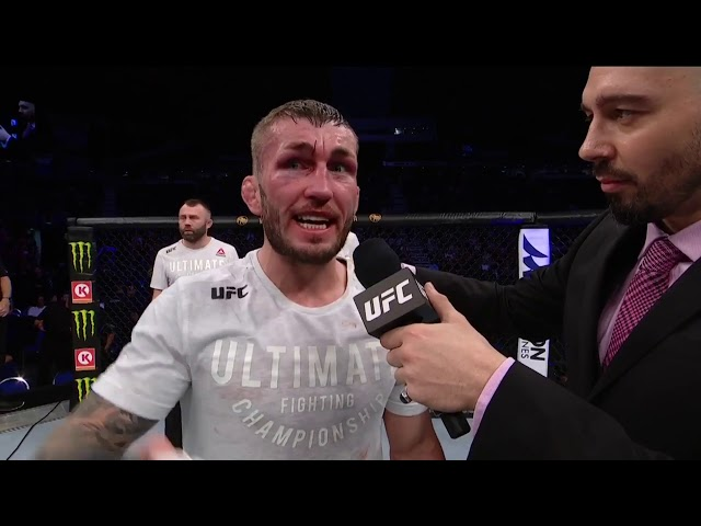 UFC Singapore: Stevie Ray Octagon Interview