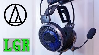 LGR - Audio-Technica ATH-ADG1X Headset Review