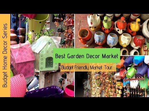 Garden Decor Market Tour 2019   |Balcony  Decor Ideas | Cheapest Garden Decor Market