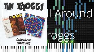 🎹 Love Is All Around, The Troggs, Synthesia Piano Tutorial