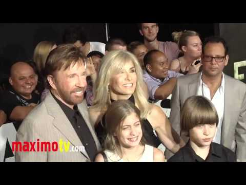 "Chuck Norris and his family - ""The Expendables 2"" Premiere in L.A. - 2012 #2"