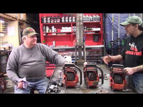 """Husqvarna 385 Junk Pile Saws 2 and 3, """"Dead SAWS Salvage Video"""""""