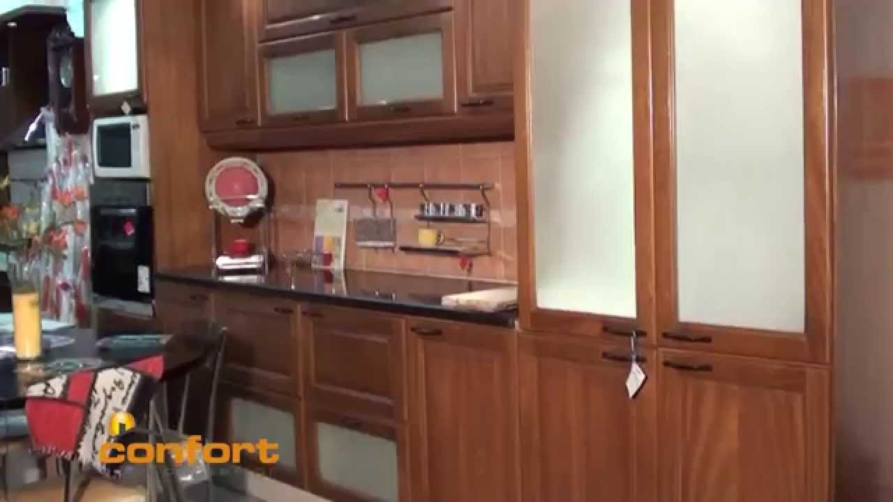 Casacocina muebles de cocina madera maciza youtube for Muebles cocina madera