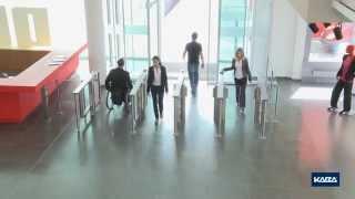 видео Полуростовые турникеты