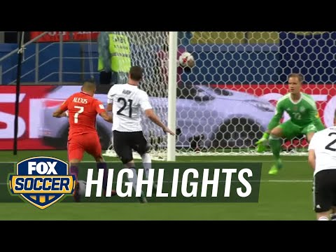 Alexis Sanchez becomes Chile's all-time leading scorer | 2017 FIFA Confederations Cup Highlights