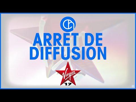 Arrêt de diffusion (31 août 2010 à 23h59) - Virgin 17 (Canal 17)