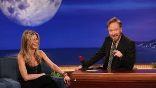 Jennifer Aniston Interview Part 01 - Conan on TBS