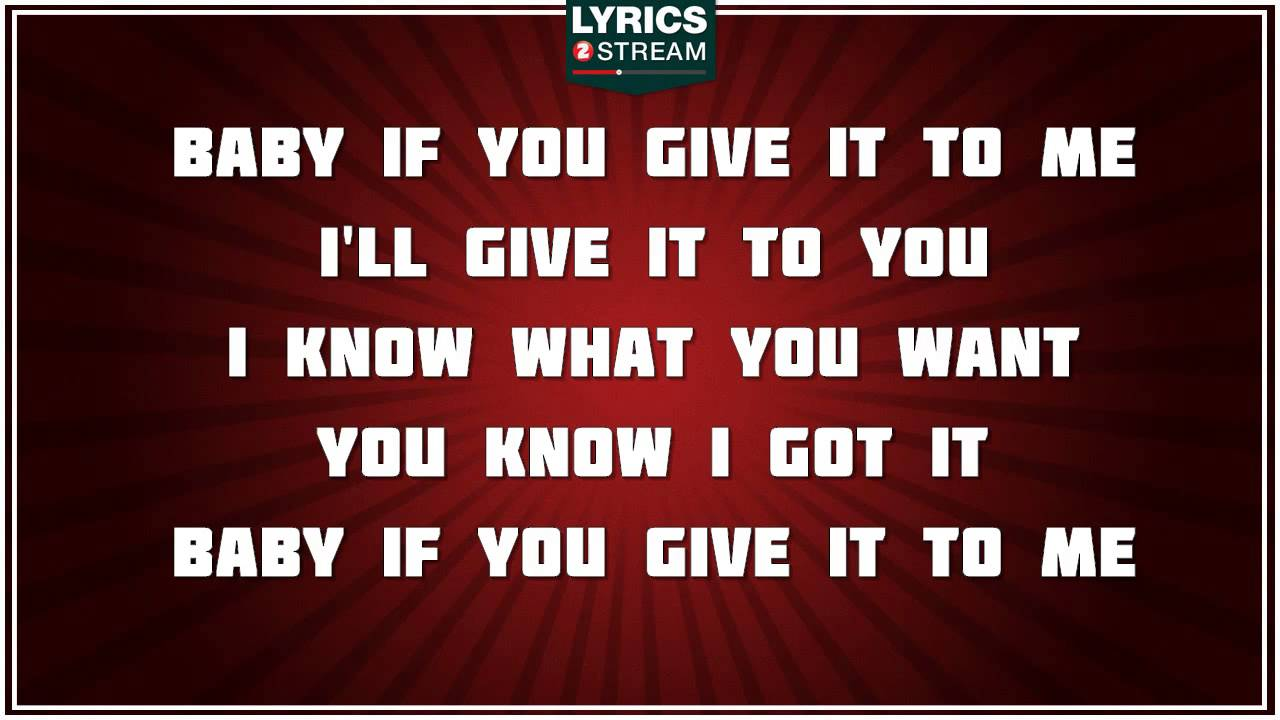 Download I Know What You Want - Busta Rhymes tribute - Lyrics