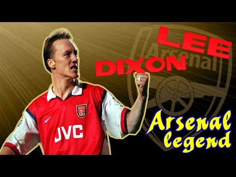LEE DIXON - Arsenal legend