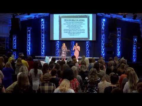 """Альфа и Омега - Эвелина Смане - Женская Конференция """"Создана любить"""" - Вечернее служение"""