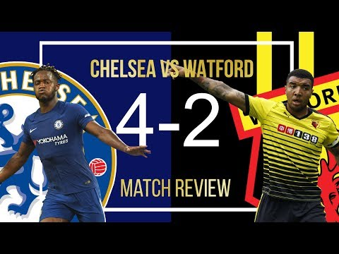 This Game Sums up our Season! || MICHY COME THROUGH! || Chelsea 4-2 Watford Match Analysis!