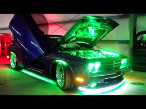 How Much Is A Lambo >> Dodge Challenger SRT8 plum crazy Custom LED Lighting ...
