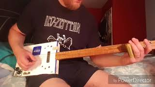 How to play You Can't Teach An Old Dog New Tricks by Seasick Steve on Cigar Box Guitar