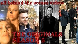 THE ORIGINALS SEASON 5 ALL BEHIND THE SCENES VIDEOS   JOSEPH MORGAN, CANDICE KING