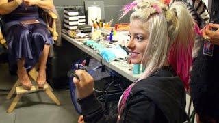 Alexa Bliss and Peter Rosenberg teach The Miz about fidget spinners...