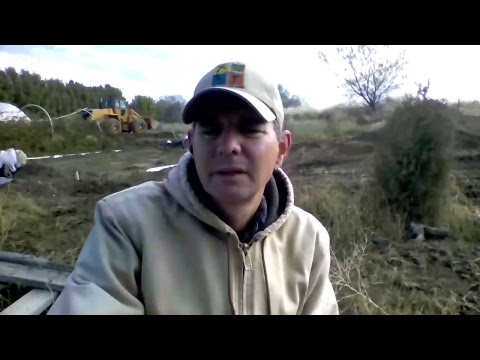 LIVE: Geothermal Greenhouse Heat Sink Install Part 3