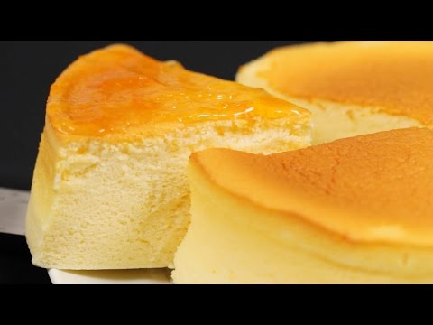 Thumbnail: Soufflé Cheesecake Recipe (Japanese Cotton Cheesecake) | Cooking with Dog
