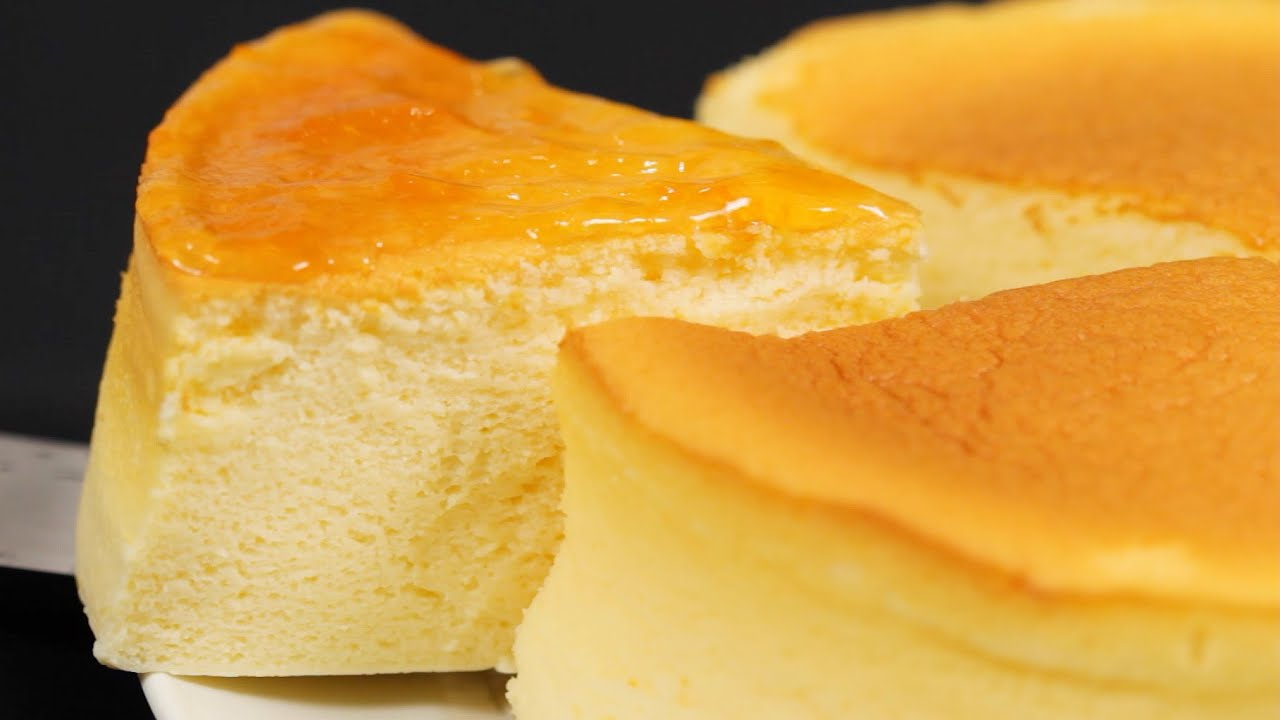 Japanese Sponge Cake Recipe Youtube: Japanese Soufflé Cheesecake Recipe (Fluffy And Moist