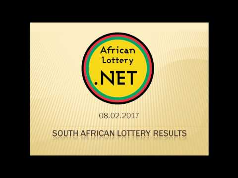 South Africa Lotto results - 08.02.2017