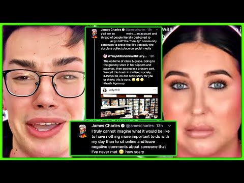 James Charles THROWS Fit Over Jaclyn Hill thumbnail